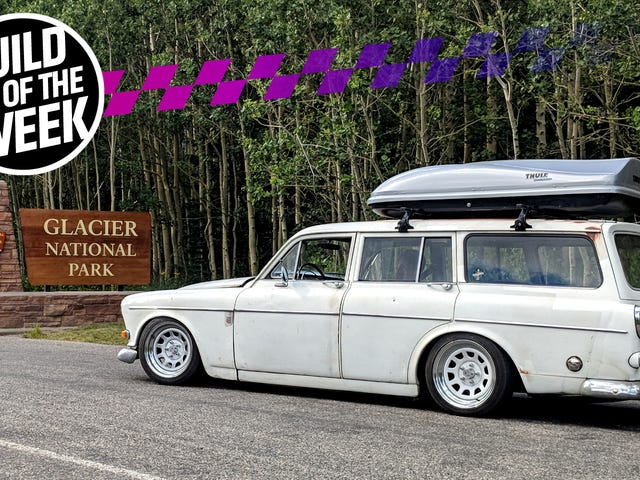 The Best Things to Do With Your New Engine Engine Swapped 1966 Volvo Is Drive Across the Country