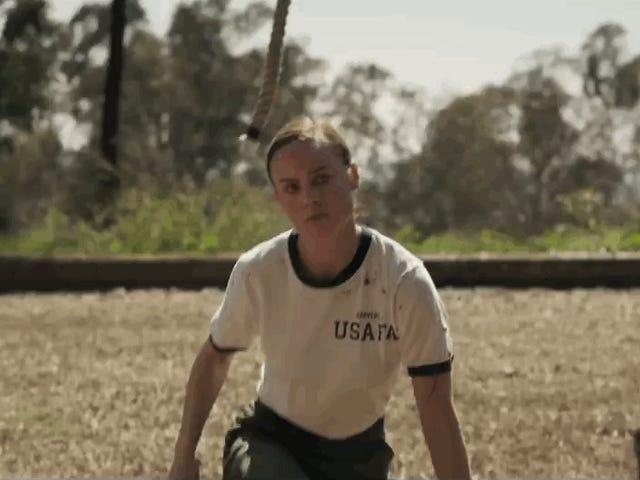 Brie Larson puhuu nousevasta kapteeni Marvelista uudessa näyttämössä
