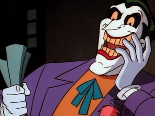 Το Tim Curry για το γιατί ο Τζόκερ του είχε διαλυθεί από το Batman: Η Κινούμενη Σειρά