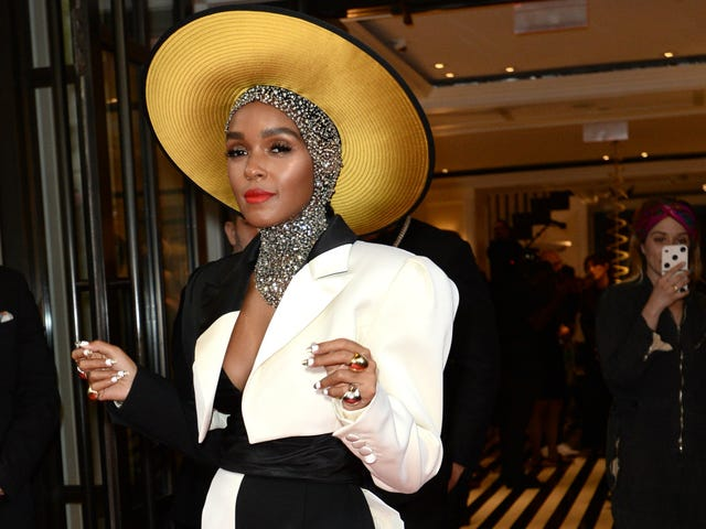 Met Gala 2018: How Janelle Monáe Served Flawless Face for 'Heavenly Bodies'