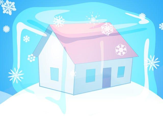 Düzgün Evinizi De-Ice nasıl