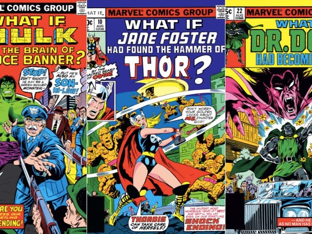 The Secret Beauty of Marvel's What If Comics