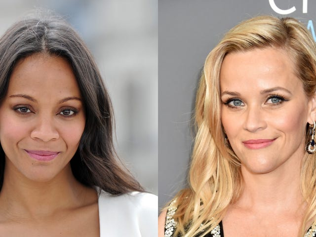 Zoe Saldana spelar huvudrollen i Reese Witherspoons nya Netflix-produktion, From Scratch