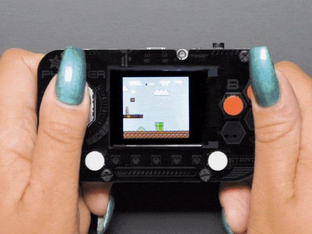 Adafruit lo hizo realmente fácil para construir tu propio GameBoy