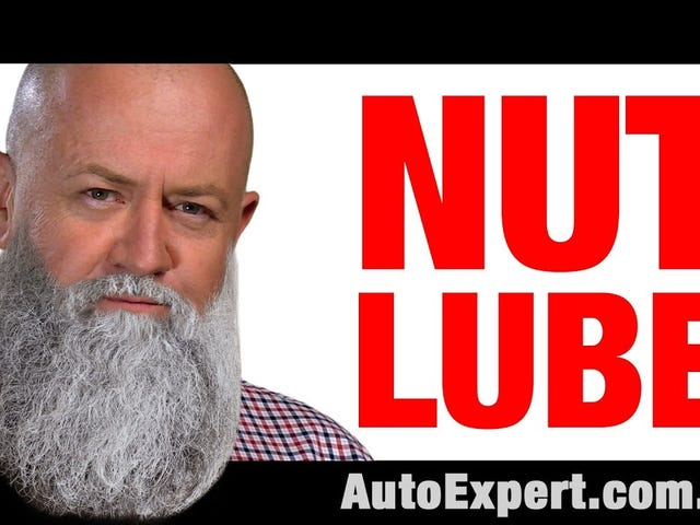Do you lube your nuts?