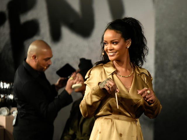 Rihanna Knows Every Commenter Is Just Three Babies in a Trench Coat