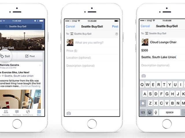 Facebook Wants To Be Craigslist