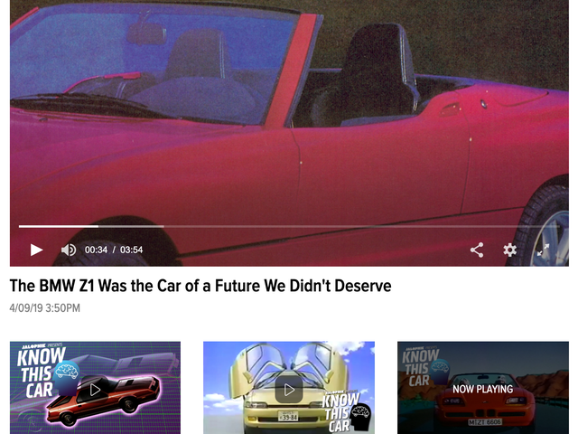 RELEASE: Homepage Video Carousel