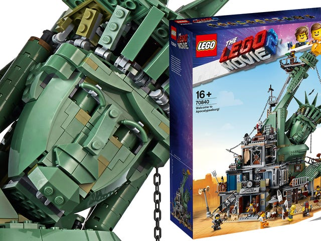 Welcome To Apocalypseburg Is The Biggest Lego Movie Set Yet