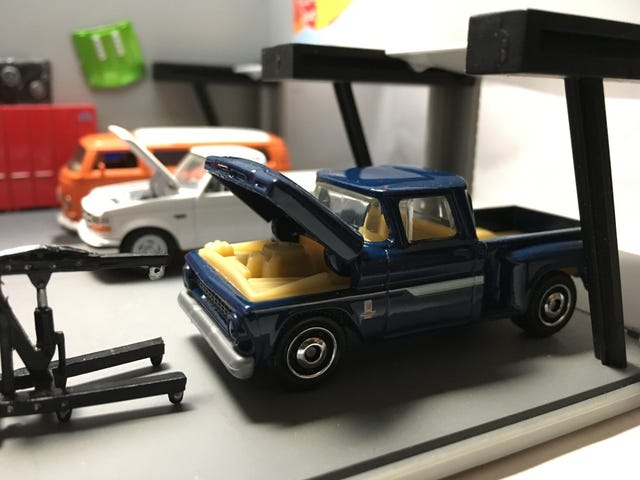 Matchbox moving parts