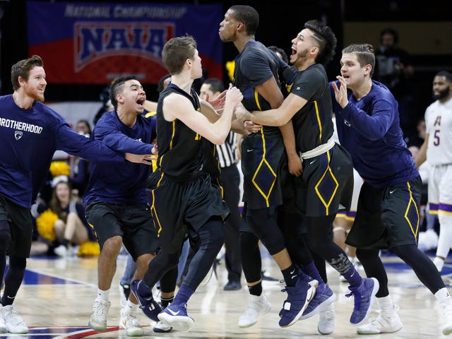 """Have Mercy!"" Graceland Wins NAIA Championship At The Buzzer"