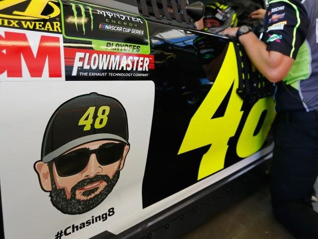 Why in the World Are NASCAR Teams Putting Emojis on Race Cars?