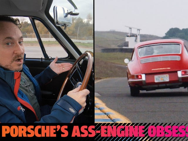 Veja-me rodar um Porsche de US $ 4 milhões e falar sobre carros com motor traseiro
