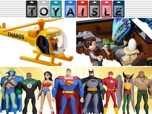 The Animated Justice League Assembles, och mer av världens finaste leksaker i veckan