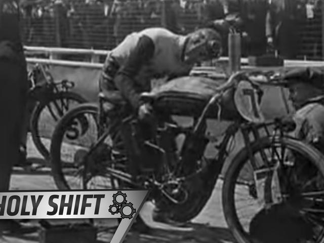 Jak ta wczesna forma wyścigów motocyklowych umarła szybką śmiercią