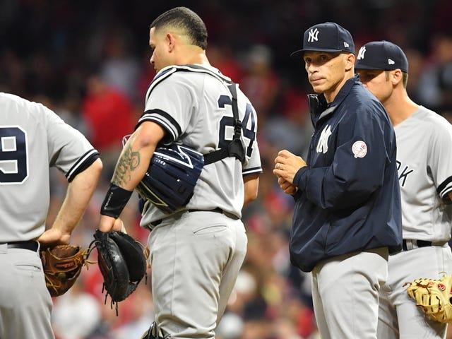 You Are Not A Catcher, Joe Girardi