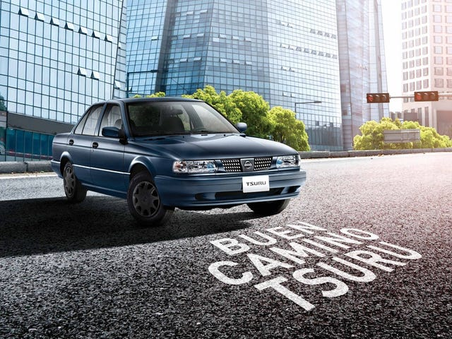 Mexico's Nissan Tsuru Goes Out In A Blaze Of Perfect Deathtrap Glory