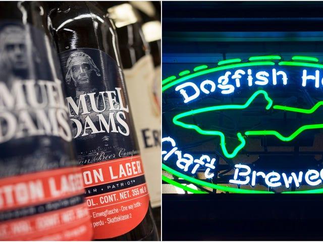 2 håndværksølpionerer kombinerer kræfter: Dogfish Head sælger til Boston Beer Company
