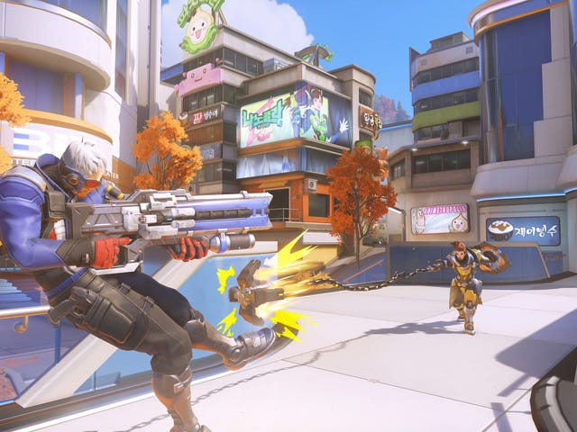 Overwatch's New Busan Map Is A Chaotic Blast