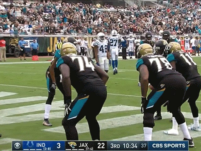 Leonard Fournette And Jaguars Celebrate Touchdown With Free Throw