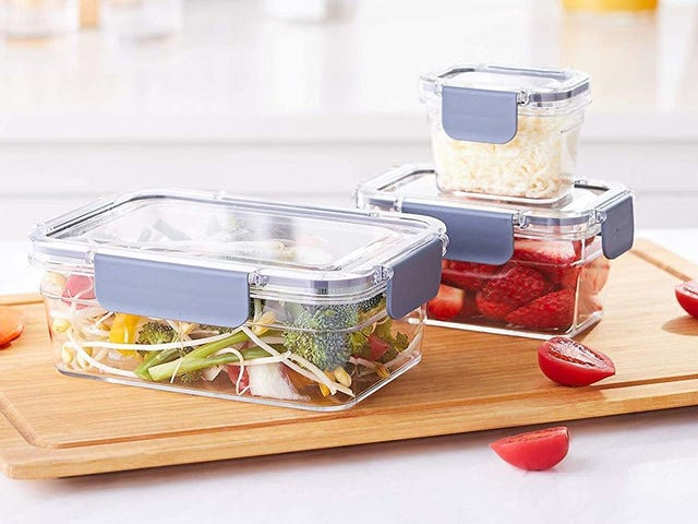 Store All Of Your Leftovers In This 10-Piece AmazonBasics Set For Only $13