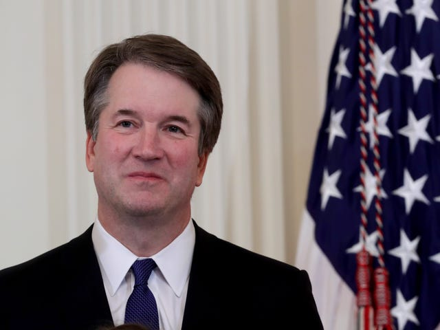 Brett Kavanaugh Belonged to a Frat That Once Chanted 'No Means Yes, And Yes Means Anal'