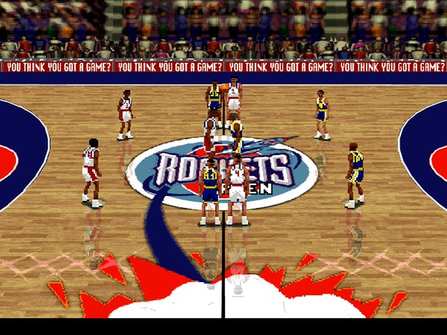 LIVE: We're Simulating Tonight's Warriors-Rockets Game In NBA Live 96