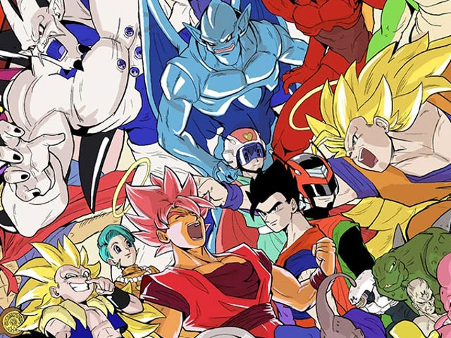 Her Dragon Ball Karakteri, Birlikte