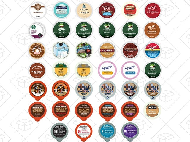 Try Out 40 Different Types Of Coffee For $20