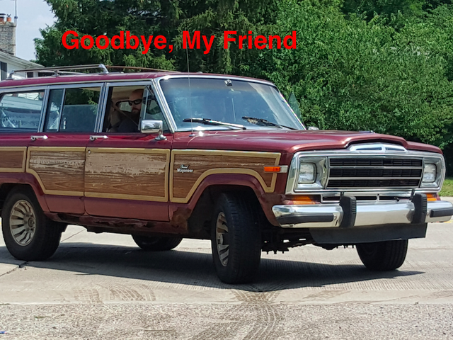 My $800 Jeep Grand Wagoneer is Gone and I'm Definitely Not Crying