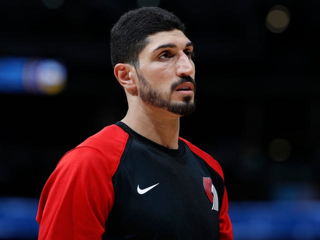Turkish TV Channel Won't Air Blazers-Warriors Because Of Enes Kanter