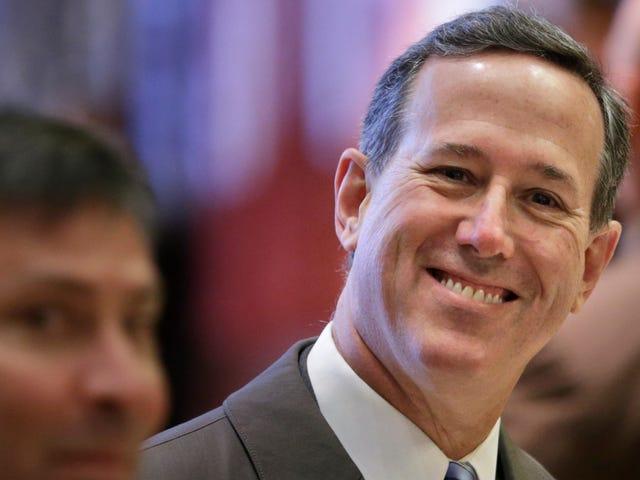 Ο Rick Santorum είναι ένας τύπος Cryptocurrency τώρα, προφανώς