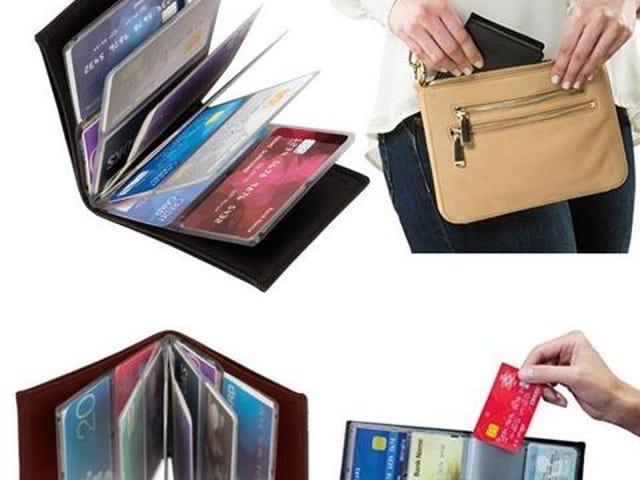 Billetera RFID Slim Carteras Titular de la tarjeta