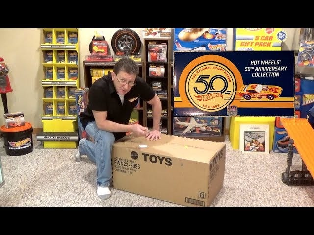 Hot Wheels 50th Anniversary Master Set