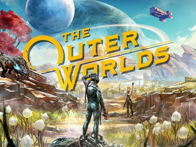 Obsidian's Fallout: New Vegas spiritual successor The Outer Worlds is coming out on October 25