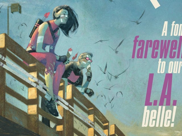 Kate and Clint fight for their lives in this Hawkeye #16 exclusive