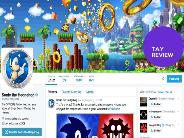 <i>Sonic The Hedgehog</i> : <i>The Twitter:</i> La revue TAY
