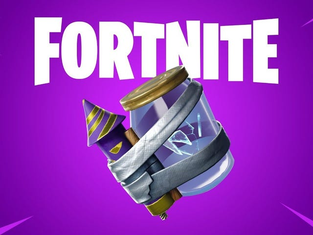 Fortnite's 10.10 patch adds new items: a Junk Rift that drops random items on enemies and Glitched C