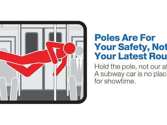 Stop Being Gross on the Train, Yell New NYC Subway Ads