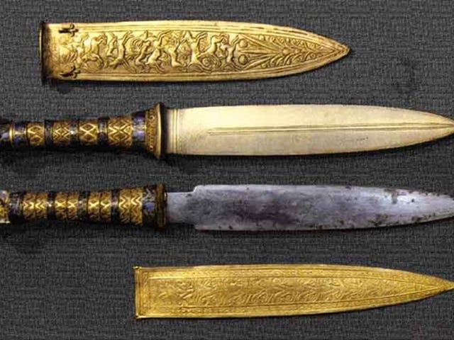 La daga que apareció en la tumba de Tutankamón está forjada con hierro de meteorito, y ahora sabemos por qué
