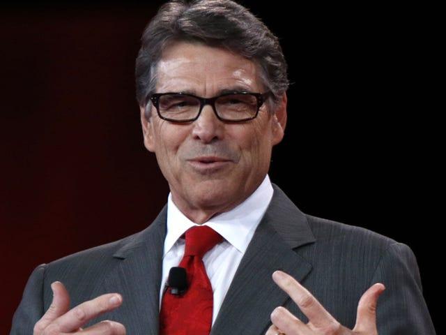 Έκθεση: Ο Rick Perry επέλεξε να οδηγήσει την υπηρεσία ενέργειας που δεν μπορούσε να θυμηθεί το όνομα του