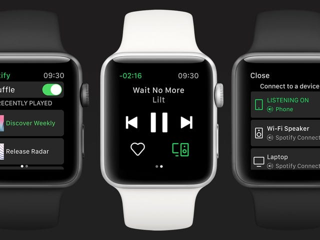 Spotify's Official Apple Watch App Is On Its Way—And Missing Key Features