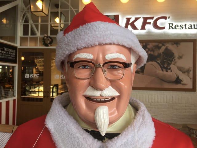 Por que KFC é o jantar de Natal no Japão <em></em>