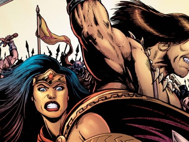 Gail Simone on Teaming Up Wonder Woman ja Conan Barbarian for New Comic