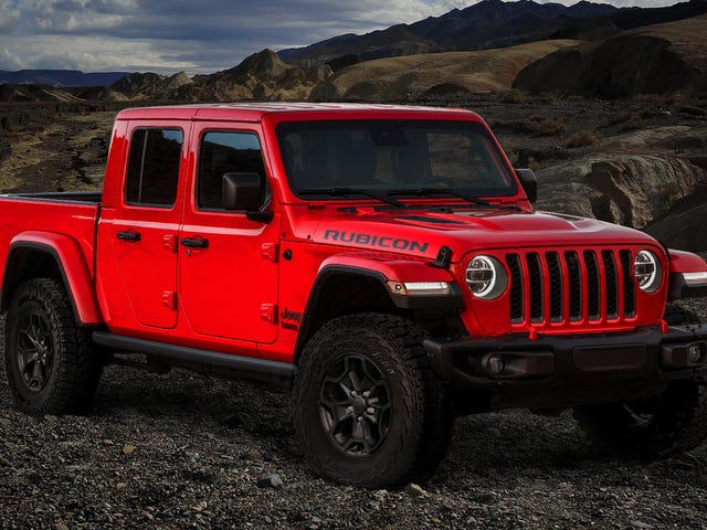 The $62,310 Jeep Gladiator Launch Edition Sold Out in a Day