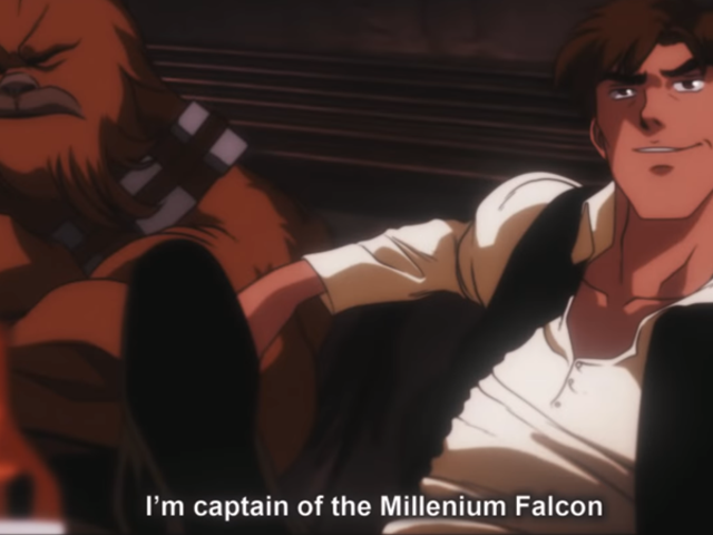 Star Wars: A New Hope, But as a Classic '80s Anime