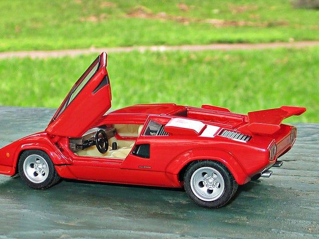Tomica Premium au 1/43: Lamborghini Countach LP500S