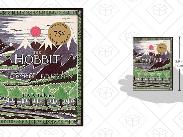 Disappear Into Middle Earth With This $7 Pocket-Sized The Hobbit