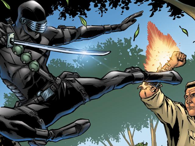 G.I. Joe's Next Comic Book Opponent Is... The Six Million Dollar Man?!