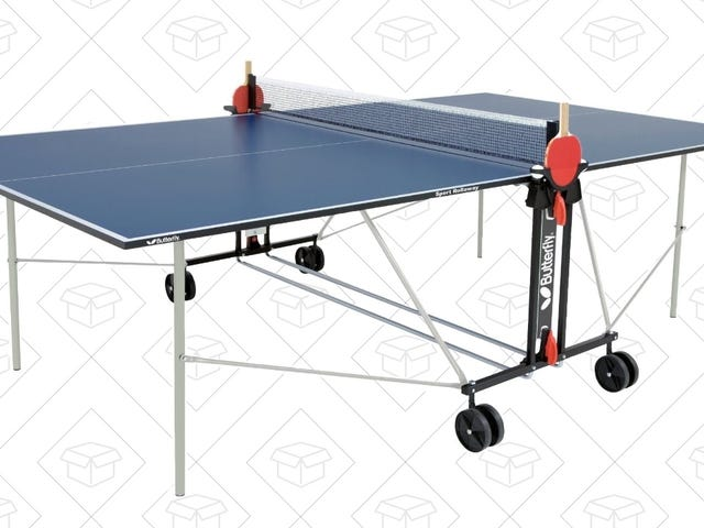 Save $50 on a Ping Pong Table, Courtesy of Amazon